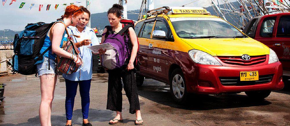 Такси на Самуи