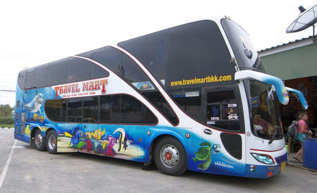 VIP автобусы в Тайланде
